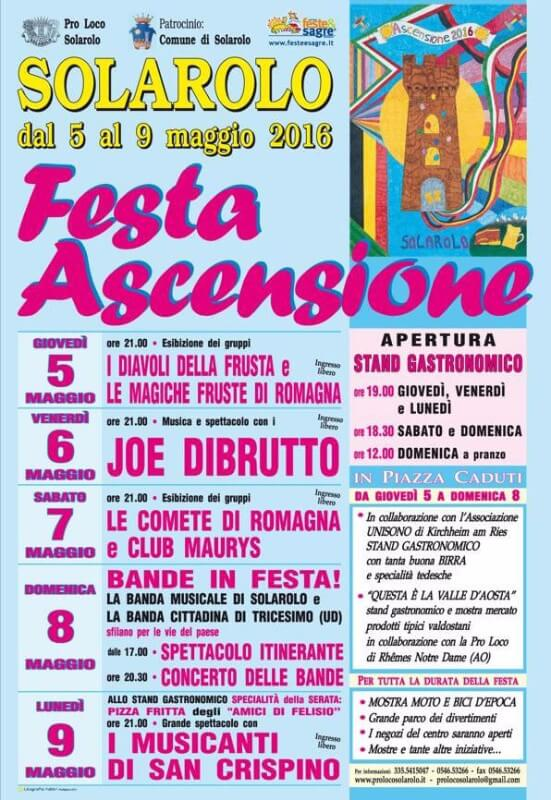 Festa dell'Ascensione 2016