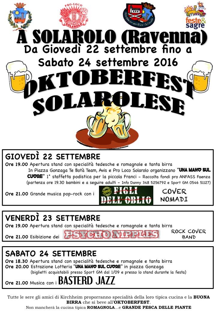 Oktoberfest Solarolese 2016