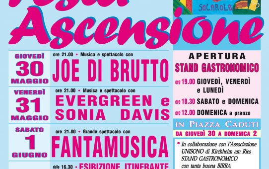 Festa dell'Ascensione 2019