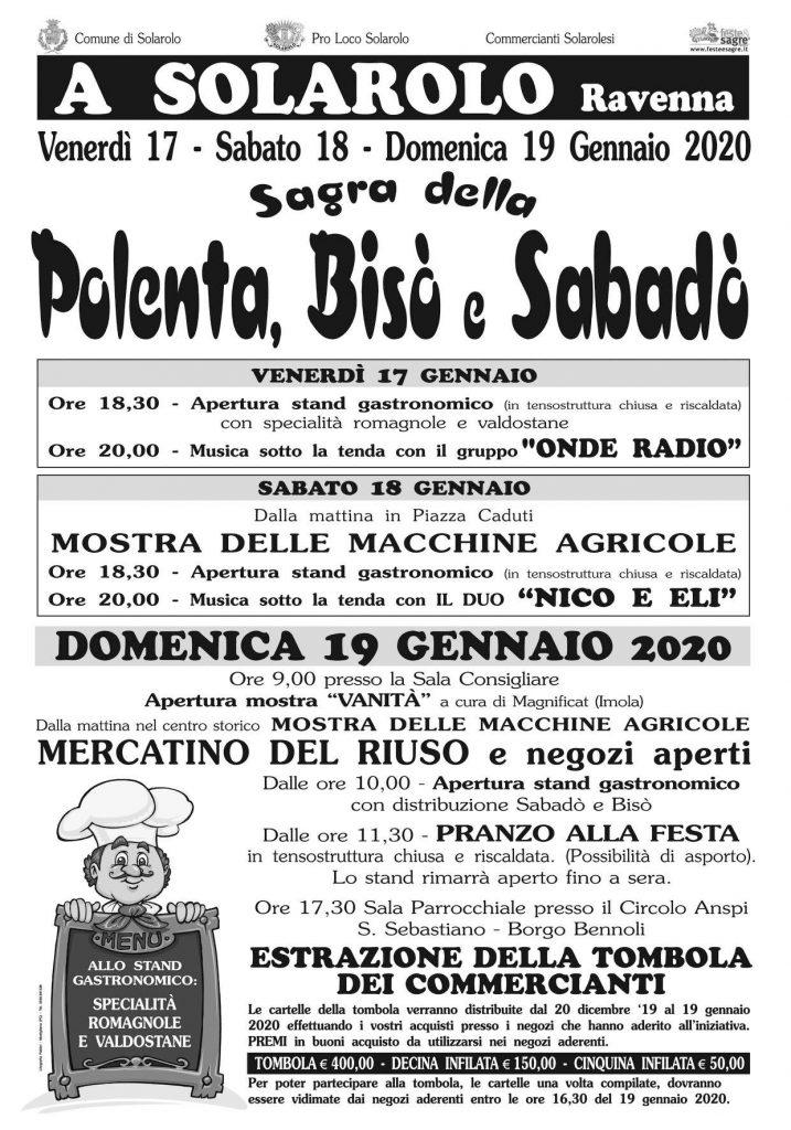 sagra polenta 2020